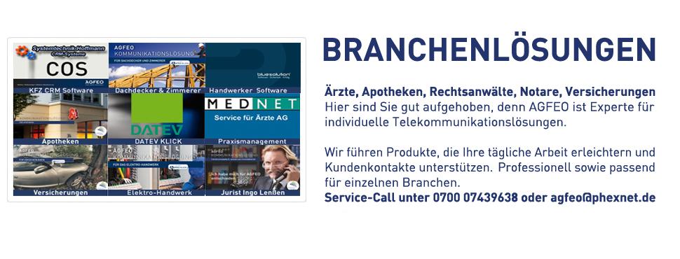 AGFEO ist Experte für individuelle, branchenorientierte Telekommunikationslösungen - Service-Call unter 0700 07439638